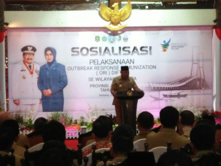 Pemprov Jatim Gelar Outbreak Response Immunization di Sampang