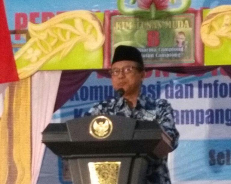Pembukaan Kegiatan LCCK Tingkat Kabupaten Oleh Sekretaris Daerah
