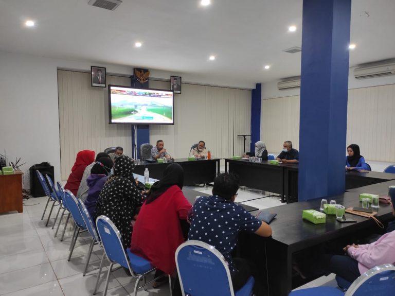 TP2D lakukan Koordinasi dengan LPPL Radio Suara Sampang