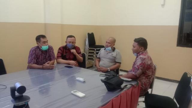 Koordinasi Kerjasama Branding, Direktur RSUD dr Mohammad Zyn Gelar Pertemuan Dengan Kadis Kominfo